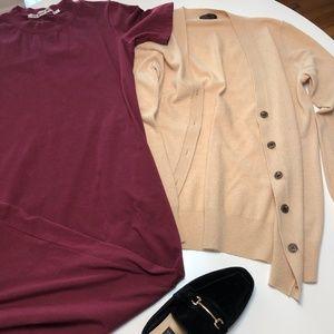 J Crew cashmere blend cardigan